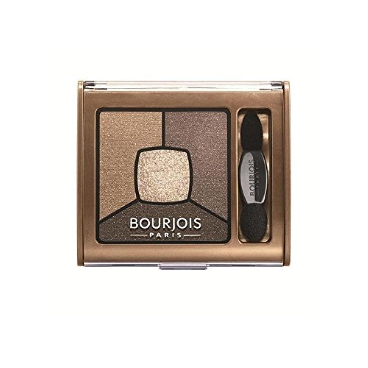 ブルジョワクワッドスモーキー物語は逆さま茶色のアイシャドウ x2 - Bourjois Quad Smoky Stories Eyeshadow Upside Brown (Pack of 2) [並行輸入品]