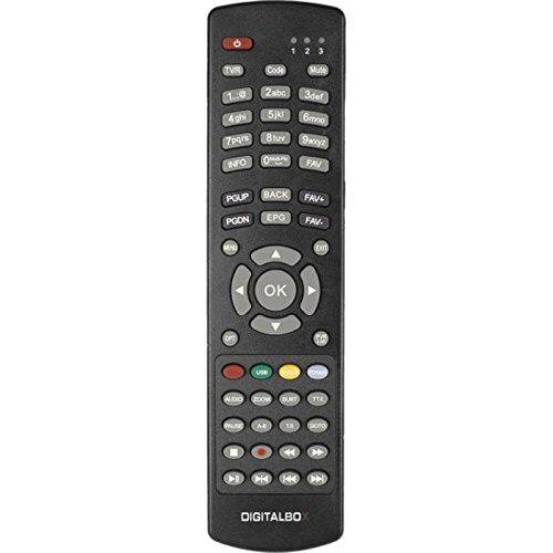 DIGITALBOX 77-5005-00 Original-Fernbedienung für IMPERIAL HD 2 plus Receiver (schwarz)