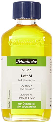 Schmincke Leinöl kalt geschlagen - 200ml Öl Hilfsmittel 50 027 026