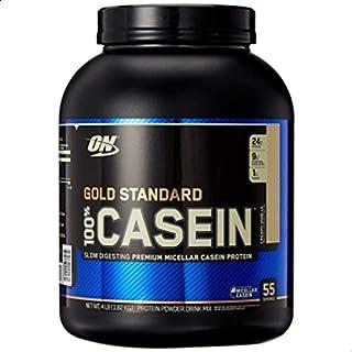Optimum Nutritin Casein Vanilla Cream Flavor, 4 Lb