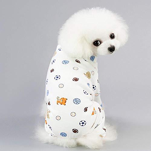NYRAO Hundebekleidung für kleine Hunde Haustier Katzen Kleidung Kostüm für Hunde Schlafanzug Mantel Welpen Outfit Haustier Kleidung Hoodies Chihuahua,Football,S