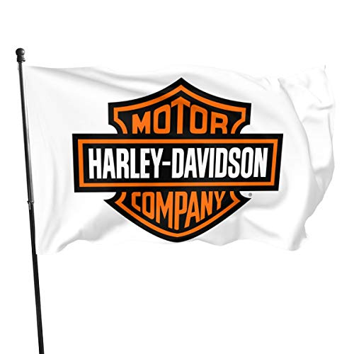 NOT BRAND ChenMingGao Home Decoration Harley Davidson Garden Flag Indoor Outdoor Flag 3x5 FT