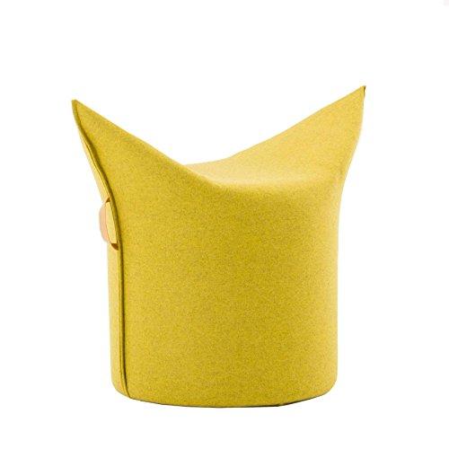 Werther – Die Möbelmanufaktur Zipfel Hocker 78 x 43 cm, h 54 cm - gelb