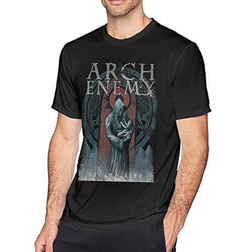 Herren Kurzarm T-Shirt Arch-Enemy War Eternal Bedruckte Athletic Casual T-Shirts für Herren Stylish Top