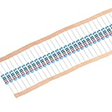 uxcell 30Pcs 220 Ohm Resistor, 2W 1% Tolerance Metal Film Resistors, Lead, 5 Bands for DIY Electronic Projects and Experiments