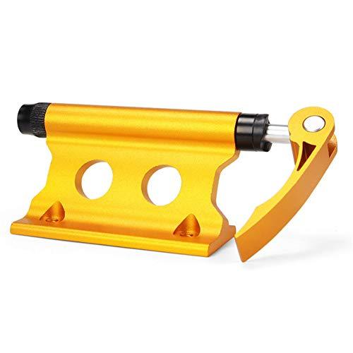 Pangyan Abrazadera de horquilla delantera de aleación de aluminio para portabicicletas, clip...