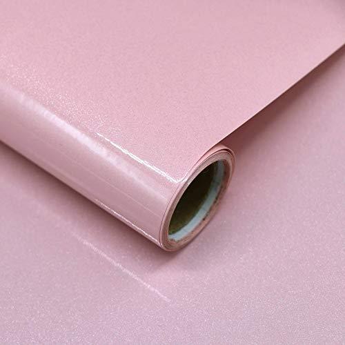 Papel Adhesivo para Muebles Rosa 40cm X 3m Vinilo Pegatina Autoadhesivo Decoración De La Pared Gabinetes De Cocina Escritorio Cajón DIY Pegatina