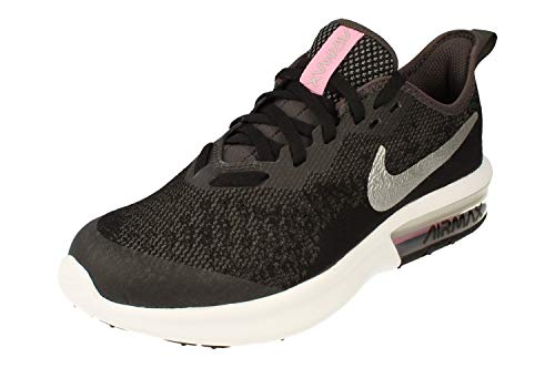 Nike Air Max Sequent 4 Running Shoe Black/Metallic Silver/Anthracite/White Size 7 M US