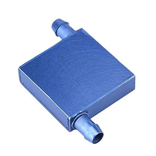 Haudang bloque de refrigeración por agua para CPU de aluminio, 40 x 40 x 12 mm, enfriador para computadora CPU radiador