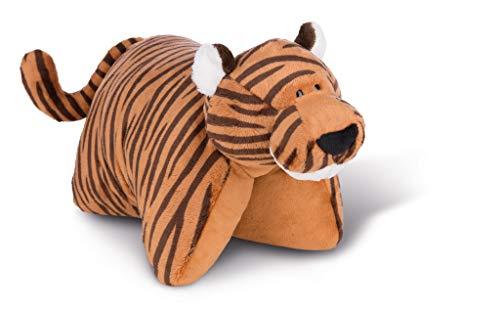NICI 43913 Kuscheltierkissen 40x30cm Tiger Balikou, Braun