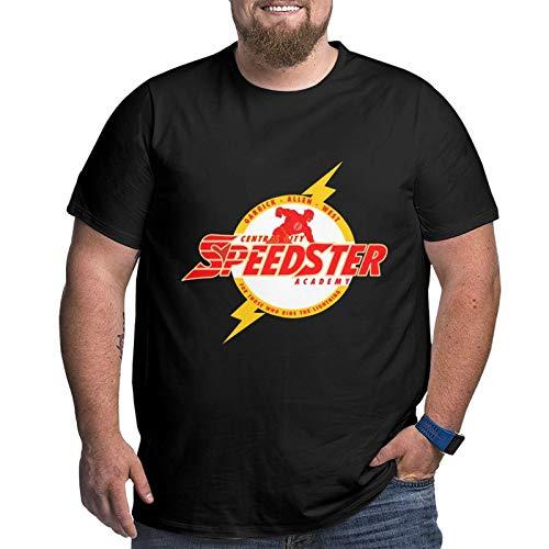 So-Nic Bo-Om Men's T-Shirt Big Size Short Sleeve Beach T-Shirts Lightweight Tees XL Black