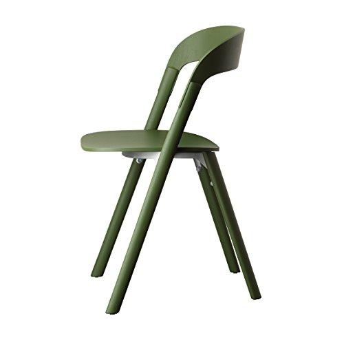 Magis Stuhl Pila Esche-grün