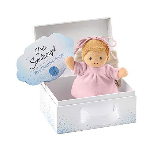 Sterntaler Mini-Spieluhr Schutzengel, Integriertes Spielwerk, Größe: 17 cm, Rosa
