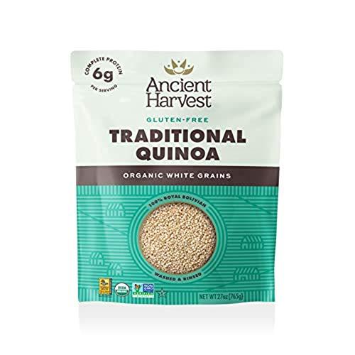 Ancient Harvest Pre-Rinsed Organic Quinoa, Traditional White, 27 oz