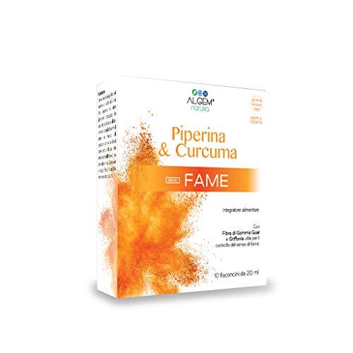 Piperina e Curcuma - MENO FAME - PACCHETTO OFFERTA 3X2 - Trattamento completo per un mese