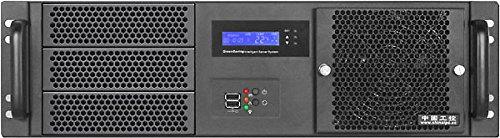 "PLINKUSA RACKBUY 3U(Fan LCD)(3x5.25+7x3.5 HD)(ATX/Micro-ATX/Mini ITX)(14.96"" Deep) Rackmount Chassis(NO Power Supply,No Rail,No System and Case Only) IPC-G3370S"