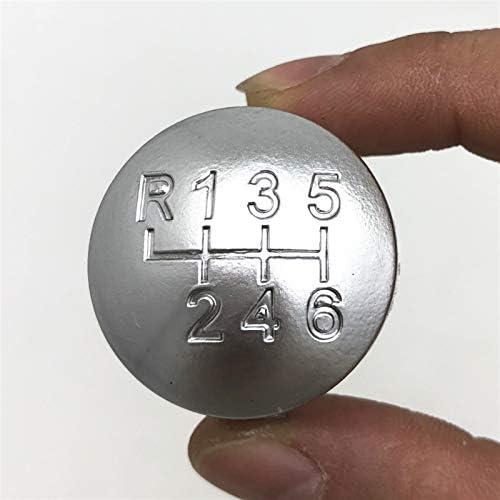 6 Speed Car Styling Manual Versnellingspookknop Badge Cap Cover Case Voor ALFA ROMEO 159 0511BRERA 0611SPIDER 0611