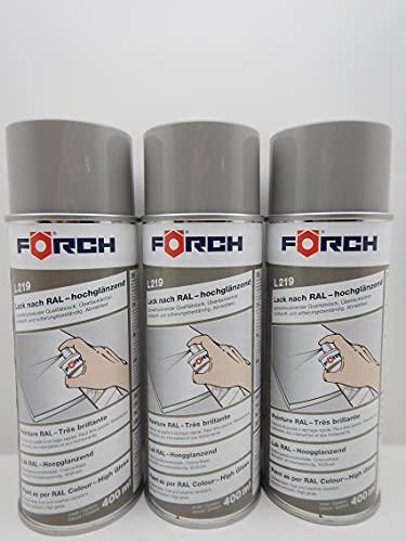 Spray de pintura gris piedra gris RAL 7030, 400 ml (3)