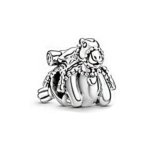 Pandora 925 plata esterlina DIY colgante joyería camello borlas encantos granos ajuste pulseras joyería femenina