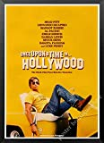 maohelaoshu Nueva Película Kraft Poster Érase Una Vez En Hollywood Art Prints Vintage Wall Decor Pictures Quentin Tarantino Poster A3345 50X70Cm Sin Marcos