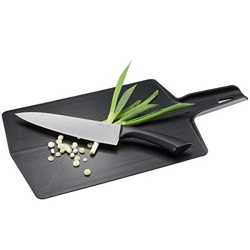 GEFU 13975 Falt-Schneidebrett LAVOS - Kunststoff Küchenbrett faltbar 47 x 26 cm