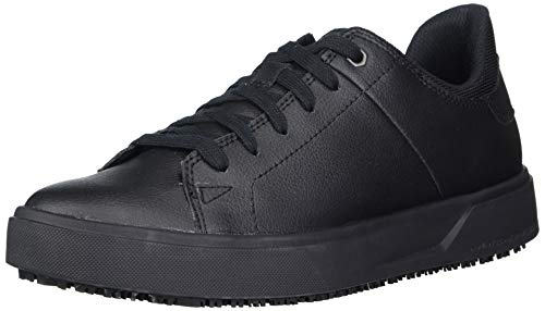 Caterpillar womens Prorush Sr+ Oxford Food Service Shoe, Black, 8 US