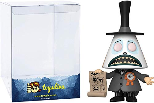 Mayor (Chase): Funko Pop! Vinyl Figure Bundle with 1 Compatible 'ToysDiva' Graphic Protector (807 - 48181 - B)