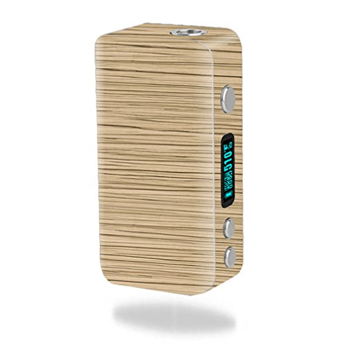 MightySkins Skin Compatible with Smok Koopor Plus 200W – Light Zebra Wood | Protective, Durable, and Unique Vinyl Decal wrap Cover | Easy to Apply, Remove, and Change Styles | Made in The USA
