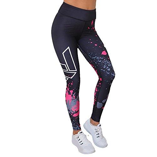 Snakell Sportgymnastik-Bauchregulierungs-Elastizität Frauen Yoga-Hosen-dünne Gamaschen mit hoher Taille und aufgedrucktem Workout-Power-Stretch
