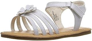 Rugged Bear RB31419 Girls Flower Sandal (Toddler/Little Kid) White Patent 6 M US Toddler [並行輸入品]