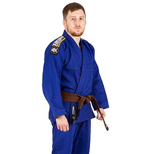 Tatami Fightwear Gi Nova Absolute Blue White Black Khaki-blu-A1