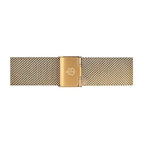 PAUL HEWITT Uhrenarmband Mesh IP Gold 20 mm