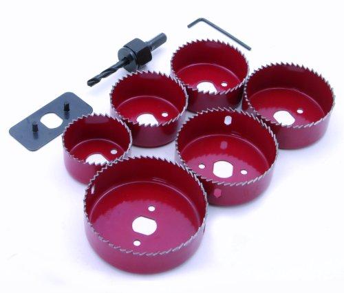 Rolson 58143 - Set di frese a tazza, 9 pezzi