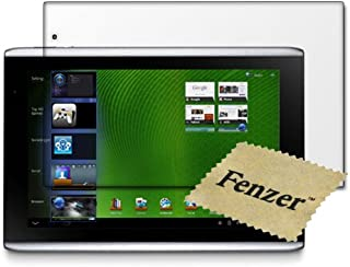 Fenzer Clear Screen Protector for Acer Iconia TAB A500 10.1 inch Tablet Transparent LCD Touch Screen Film Guard Cover Shield with Cleaning Cloth