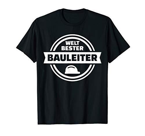 Herren Weltbester Bauleiter T-Shirt
