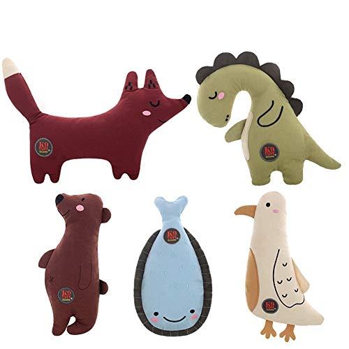 Super nettes Tierspielzeug Haustier-Spielzeug - Hund Spielzeug Biss Resistant Pet Supplies Vocal Puppy Plüschtier Teddy Welpen Langeweile lindern und Zähne Geeignet für Katzen und Hunde usw.
