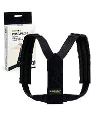 BLACKROLL® POSTURE 2.0, praktische rugbrace bevordert een juiste houding en voorkomt rug- en nekpijn, verstelbare postuur corrector