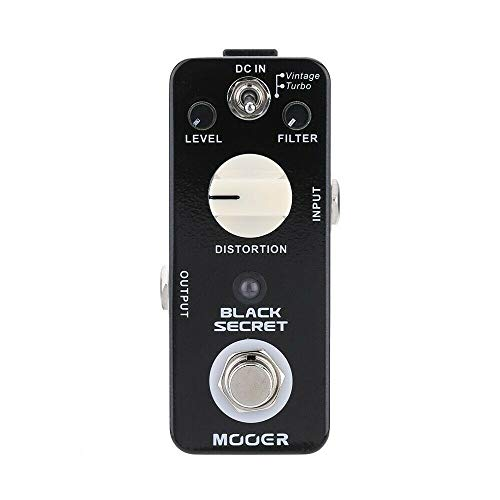 CAMOLA Mooer Black Secret Distortion Electric Guitar Effect Pedal 2 Working Modes True Bypass Copy From Proco Rat Effect