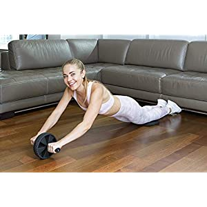 Vergo Ab Roller for Core Strength Abs Training and Exercise (1-Pack)