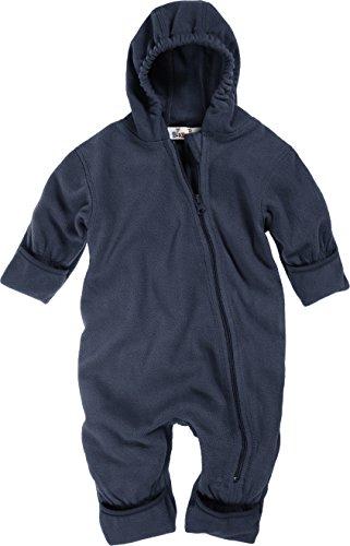 Playshoes Baby-Unisex Fleece Overall, Blau (11 Marine), 68