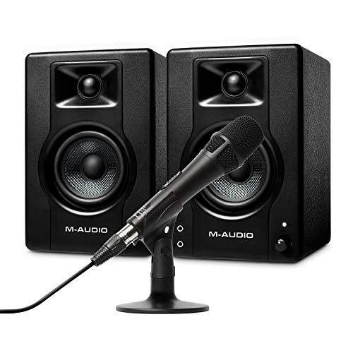 M-Audio BX3 Pair - Par de Altavoces para PC, monitores de Estudio...
