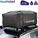HandiHoldall XL 400L Waterproof Roof Bag / Top Box (Black) – Cargo Carrier