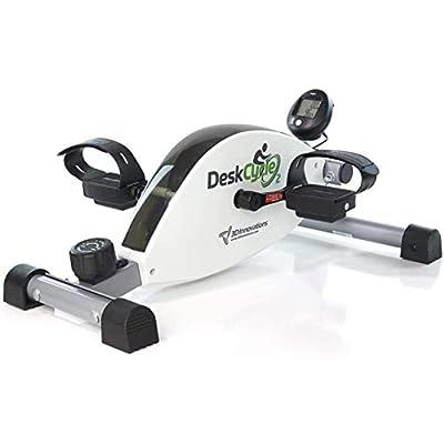 DeskCycle 2 Under Desk Bike Pedal Exerciser with Adjustable Leg - Desk Cycle, Mini Exercise Bike Peddler for Home & Office