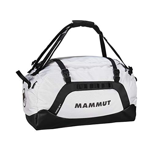 Mammut Cargo SE 60 Travel/Sports Bag - Robust travel bag with wide handles - abrasion-resistant bottom, 3 organisation compartments in main compartment, light-reflecting logo - black-white