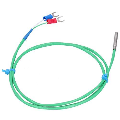 Sensor de termopar de línea de medición de sonda de termopar de silicona para ahorro de agua(1M)