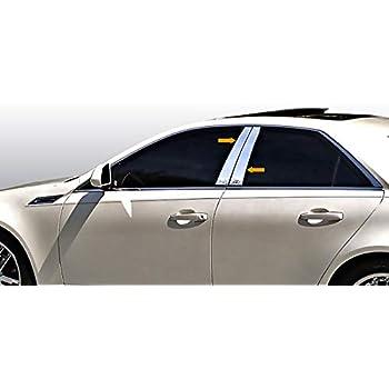 Cadillac ATS CHROME PILLAR POST FULL 6 PC KIT!!