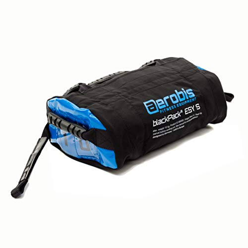blackPack ESY S Sandbag - Variable Gewichtstasche - ungefüllt - bis 10kg beladbar mit Sand