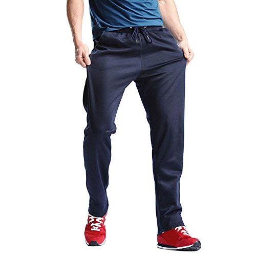 FIRSS Männer Einfarbig Trainingshose | Jogger Hosen | Sport Hose | Sportlicher Freizeithose | Regular-Fit Sweatpants | Mode Elegante Outdoorhose