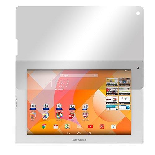 Slabo 2 x Bildschirmschutzfolie für Medion Lifetab P8912 (MD 99066) Bildschirmschutz Schutzfolie Folie Crystal Clear KLAR