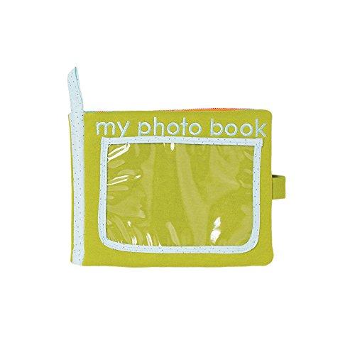 Manhattan Toy Livre de photos pour bébé Safari en tissu doux.